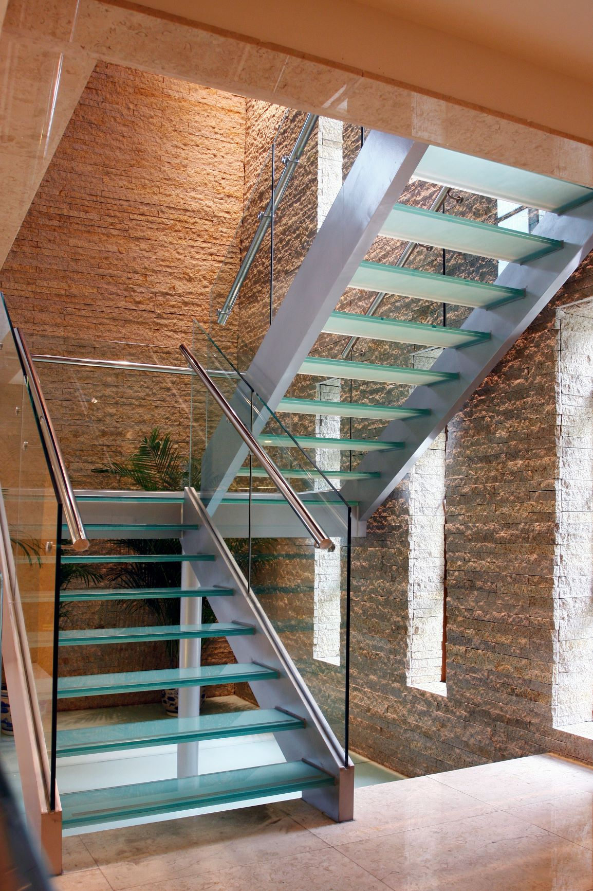 commercial glass railings