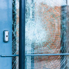 Decrease the Risk of Damaging Glass Doors